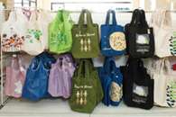 'Eco-bags' on sale to cut down on the usage of plastic shopping bags